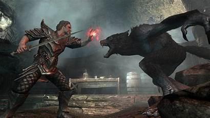 Werewolf Skyrim Vampire Master Werewolves Vampires Lord