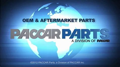 paccar inc paccar parts oem and aftermarket parts youtube