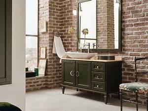 Meuble Sous Vasque Industriel : meuble vasque industriel ~ Teatrodelosmanantiales.com Idées de Décoration