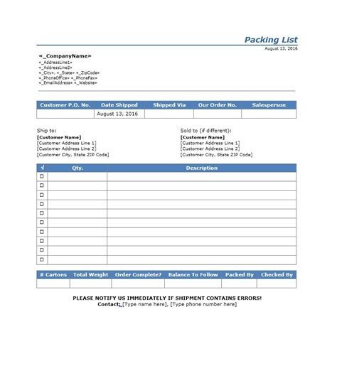 Packing List Template 40 Awesome Printable Packing Lists College Cruise