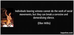Work Break Quot... Bearing Witness Quotes