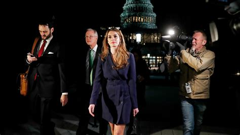 White House Communications Director to Resign as Hope Hicks