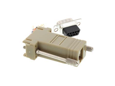 Modular Adapter Kit - DB9 Male to RJ45 - Beige | Computer ...