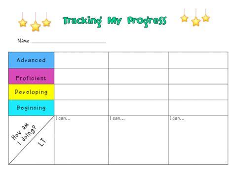 tracking student progress template tracking progress ms houser