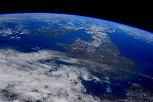 View of UK from Space - Destination Space
