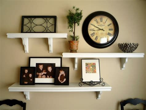 Decorative Wall Shelves For Living Room by Stylish Diy Floating Shelves Wall Shelves Easy Home