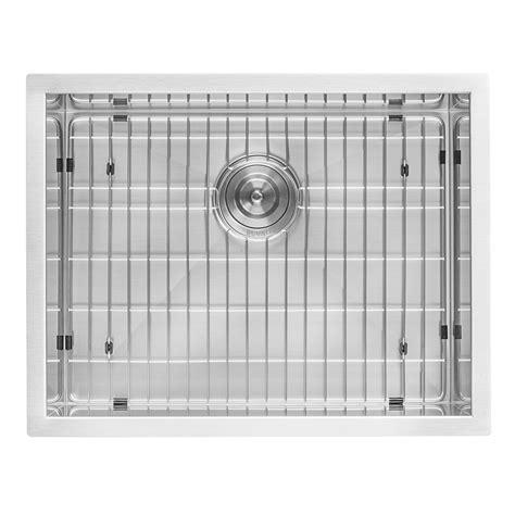 "Ruvati RVU6100 Undermount Laundry Utility Sink 23"" x 18"" x"