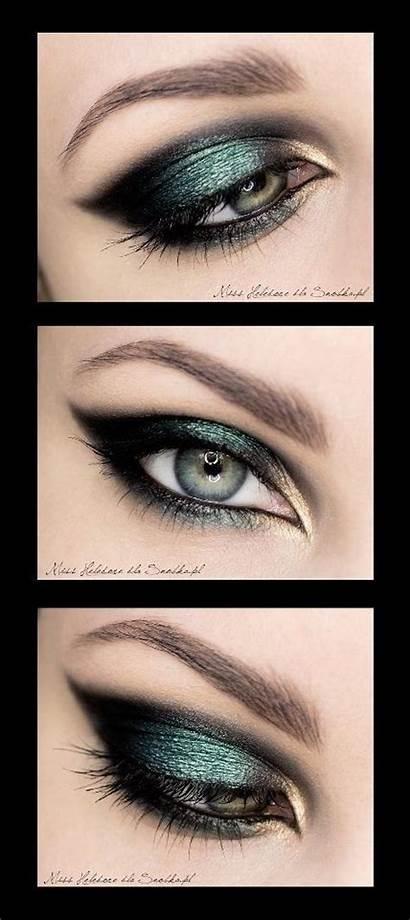 Eyes Eye Smokey Makeup Brown Simple