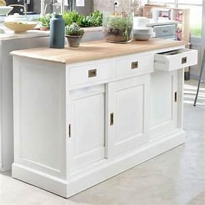 ebay With deco cuisine pour buffet blanc