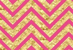 Pink and Black Chevron Wallpaper - WallpaperSafari