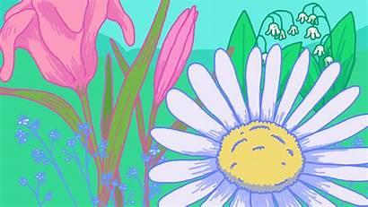 Background Giphy Clipart Garden Gifs Frame Screen