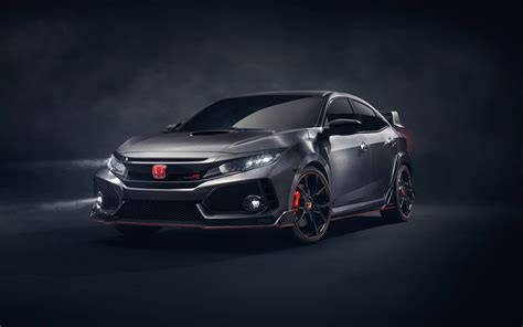 Honda Civic Type R 4k Wallpapers by 2017 Honda Civic Type R Wallpapers Hd Wallpapers Id 18766