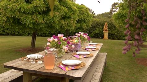 Outdoor Easter Table  At Home With P Allen Smith Youtube