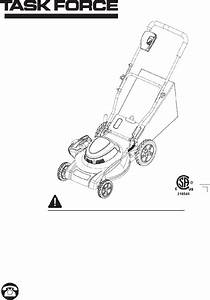 Task Force 25073 Lawn Mower Manual Pdf View  Download