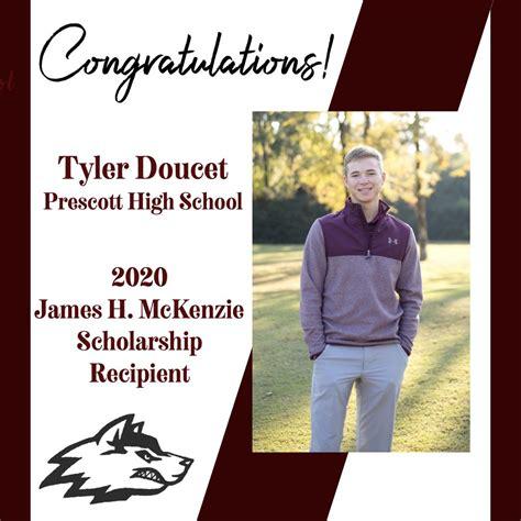 Doucet Selected as James H. McKenzie Scholarship Recipient ...