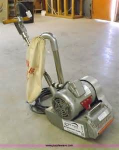 essex silver line floor sander no reserve auction on