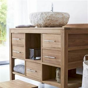 idee decoration entree maison 17 commode bois massif With idee deco meuble bois