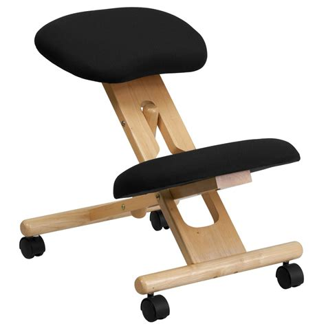 flash furniture wl sb 210 gg wooden ergonomic kneeling