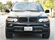 Find used 2006 BMW X5 30i Custom flat black paint 22'rims
