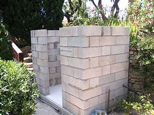 comment construire un abri de jardin en parpaing With construire un abri de jardin en parpaing