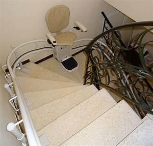 Chaise Monte Escalier : chaise monte escalier curve la garde adhemar sma ~ Premium-room.com Idées de Décoration