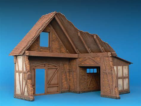german shed miniart 35509 german shed