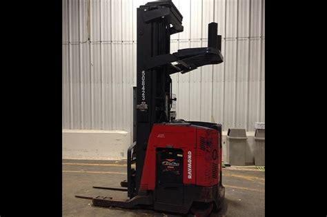 raymond easrtt reach trucks  lift height