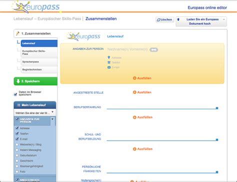 europass lernen und arbeiten  europa