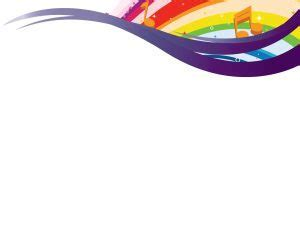 Sing of a Rainbow Powerpoint Templates   Fuchsia / Magenta