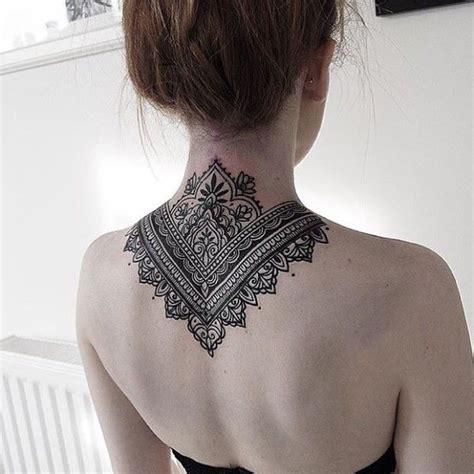 ideas  mandala tattoo neck  pinterest