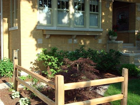 split rail fence landscaping ideas bungalow custom windowbox split rail fence urban