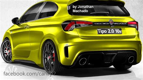 Fiat Tipo 2020 by Jms Fiat Tipo Coup 233 Abarth Tipo 3 Portas Abarth 2018