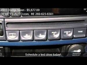 2003 Dodge Neon Problems line Manuals and Repair