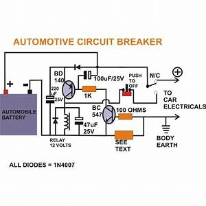 How To Build A Smart Automotive Circuit Breaker  A Permanent Solution To All Car Electrical Hazards