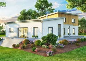 3d Exterior Small Pod House Of Rendering Design
