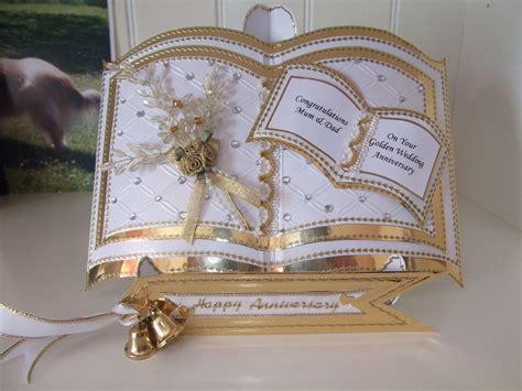 bookatrix card   parents golden wedding wedding
