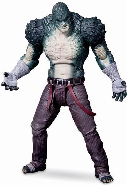 Croc Arkham Killer Batman Origins Figure Action