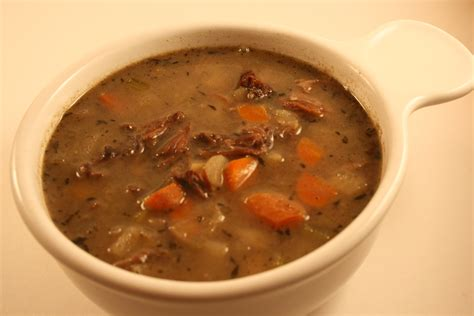 oxtail soup beef bouillon soup from oxtails recipe dishmaps