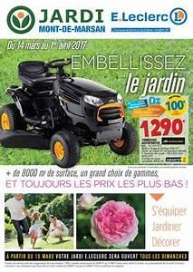 Tondeuse A Gazon Leclerc : jardi leclerc mars 2017 by bakana media agence digitale ~ Melissatoandfro.com Idées de Décoration