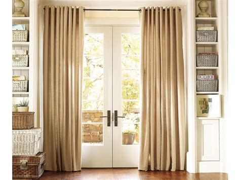 Curtain Ideas For French Doors In Kitchen