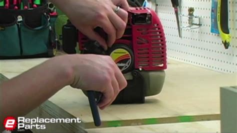replace  starter   trimmer youtube