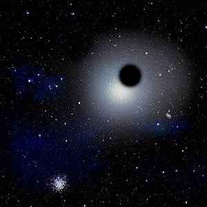 Milky Way Galaxy Black Hole - Pics about space
