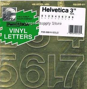 press on vinyl gold helvetica letters numbers self With press on vinyl letters