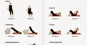 Exercise Guide   Gym Ball Exercises For Women