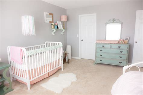 Light Gray Curtains For Nursery by Pink Mint And Gray Baby Nursery Project Nursery
