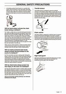 Husqvarna 61 268 272xp Chainsaw Owners Manual  2003 2004