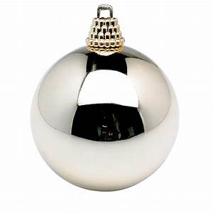 Weihnachtskugel 30 Cm : deko weihnachtskugel gl nzend 10 cm champagner 6 st ck dekoration bei dekowoerner ~ Whattoseeinmadrid.com Haus und Dekorationen