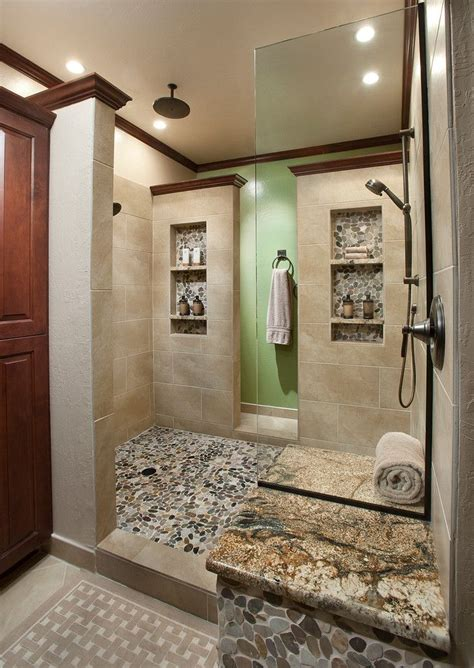 shower niche ideas bathroom traditional     field