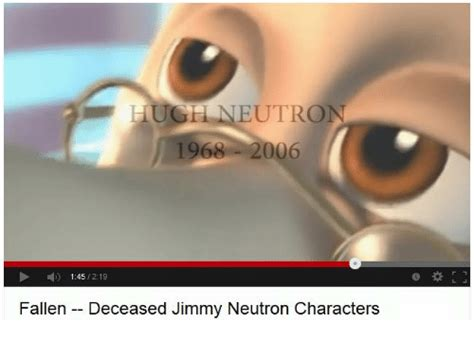 Jimmy Neutron Dank Memes - huge neutron 1968 2006 145 219 fallen deceased jimmy neutron characters dank meme on sizzle