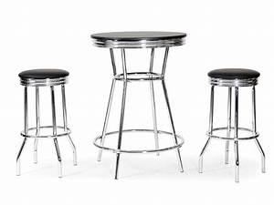 Table et chaise de cuisine pas cher 10 chaises salle for Deco cuisine avec table a manger noir pas cher